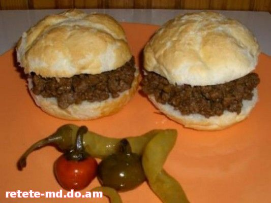 Sloppy Joes, un fel de hamburger